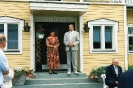 Torkkolan talon isäntäpariskunta ja vanhaisäntä